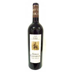 Vino Sierra Cantabria Cuvee especial de 2004